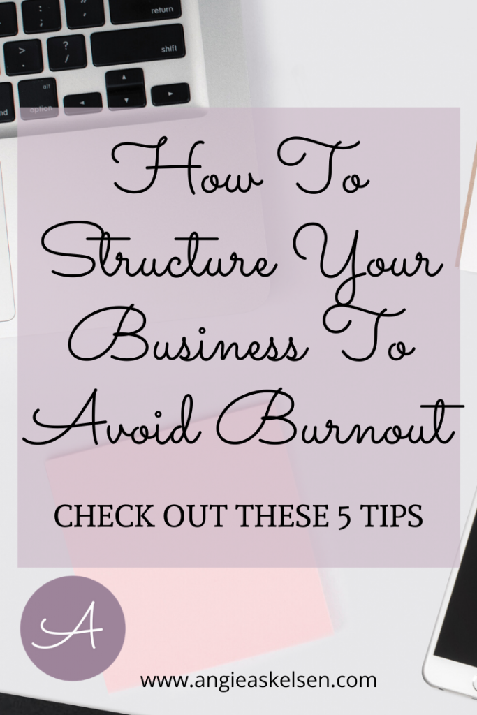 avoid burnout in business