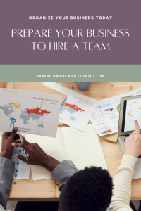 Be sure to prepare your operations before hiring a team.